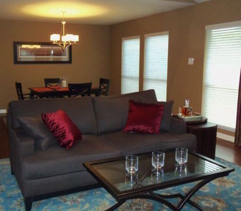 Lifestyle color consulting & decorating_living room makeover